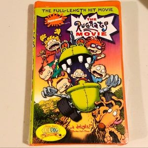 2/$20 // The Rugrats Movie - FACTORY SEALED - VHS